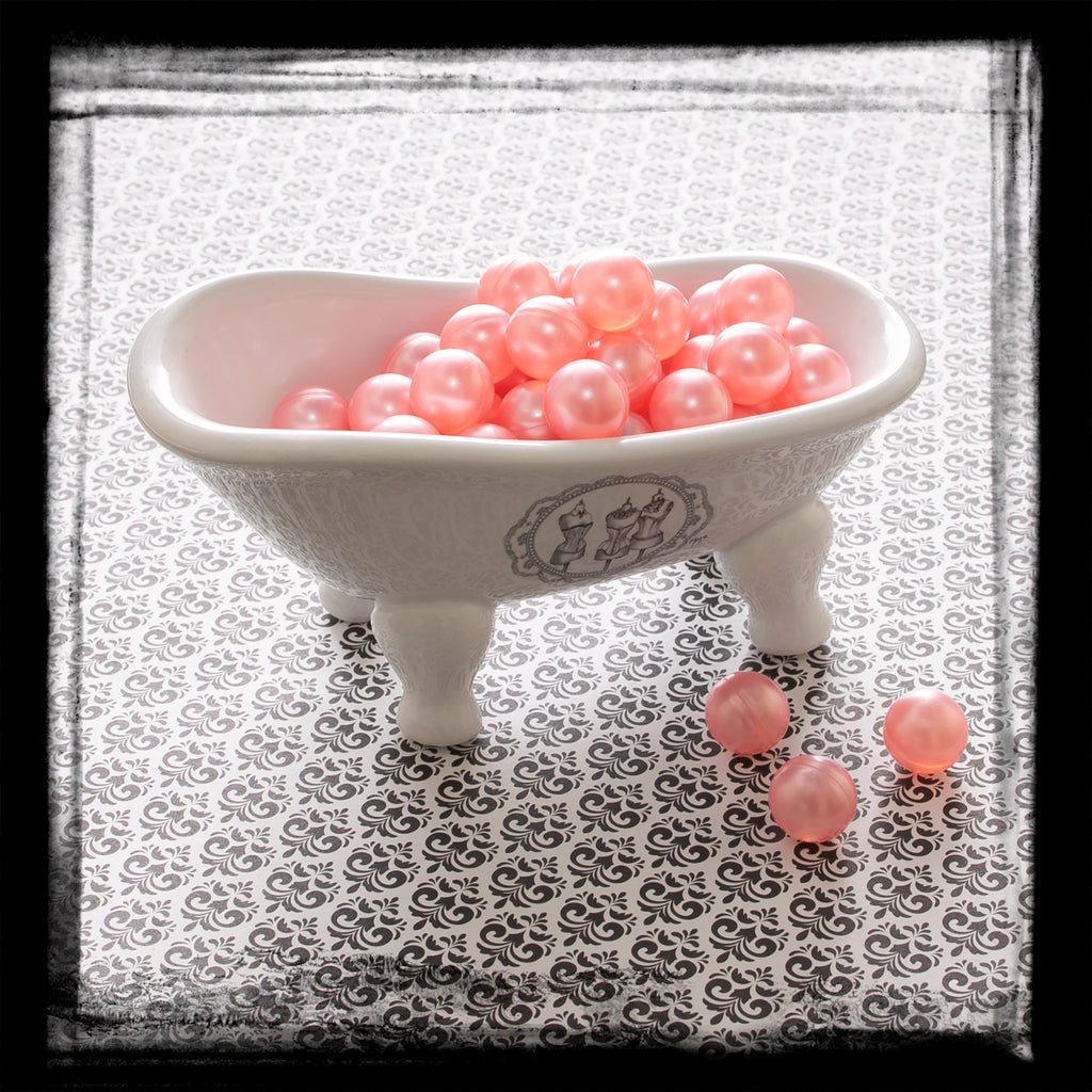 Bath Oil Beads – Pink Pearl