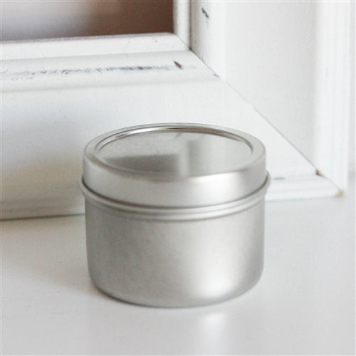 Deep Seamless Metal Tins / 2oz