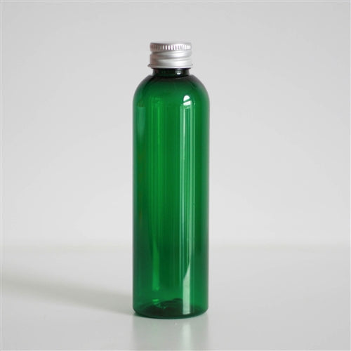 4 oz Green PET Bullet with Aluminum Cap