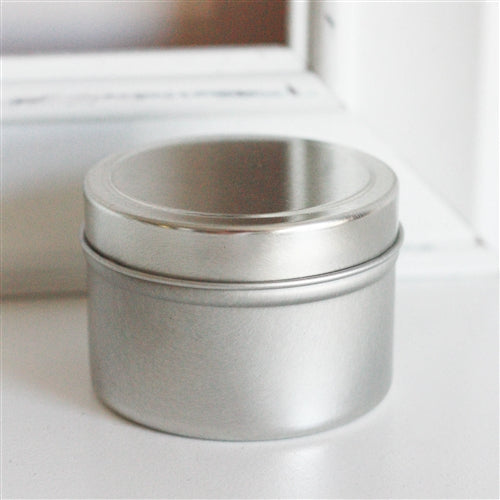 Deep Seamless Metal Tins / 4oz