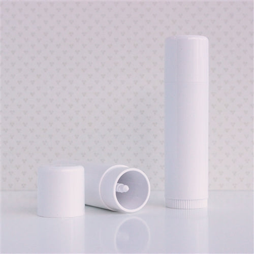 0.5 oz Lip Balm Tubes Jumbo White