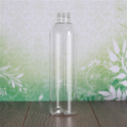 8 oz Clear PET Bullet without Closure