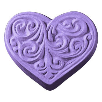 Victorian Heart Milky Way Soap Mold
