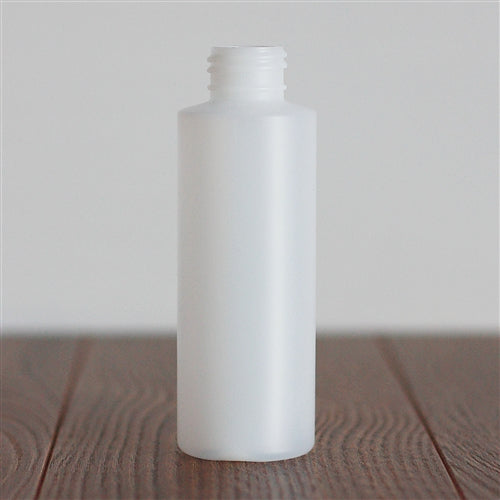 120 ml Natural HDPE Cylinder without Closure
