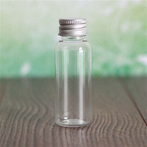 1 oz Clear Bullet with Aluminum Cap
