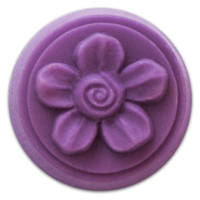 Spiral Flower Milky Way Wax Tart Mold