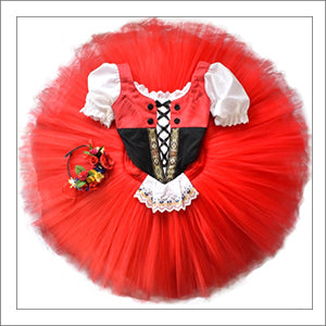 Le Travail Variation from Coppelia YAGP Costume