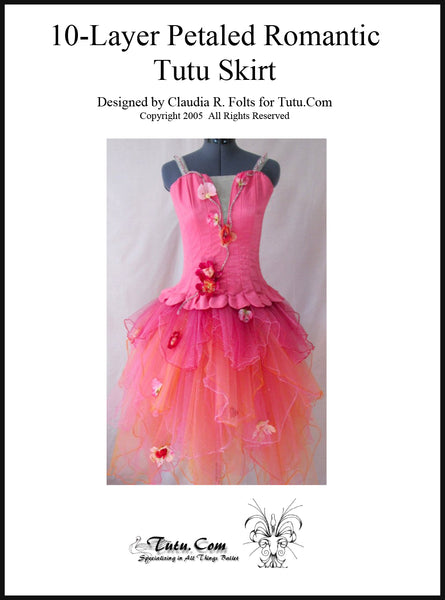 Instructions: 10 Layer Petaled Romantic Tutu