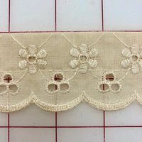 Eyelet Trim - Two Assorted Pieces 5.25 Yards Only $2.00!