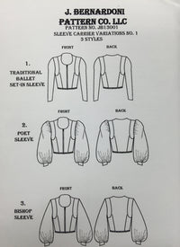 Men's Tunic Pattern with Sleeve Variations