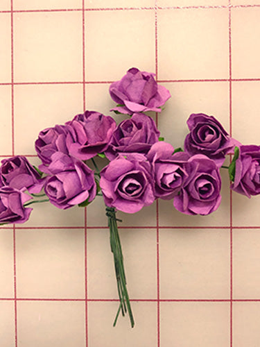 Sprays - Mini Rose Flowers Mauve Purple