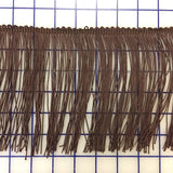 Fringe Trim - 6-inch Fringe Brown Close-Out