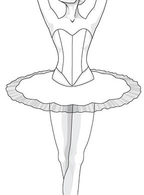 Pattern Download - Ballet Bodice 8 Piece Design