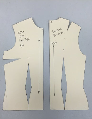 Adult Sloper Bodice Pattern