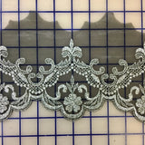 Metallic Trim - 5-inch Black and Silver