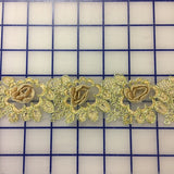 Metallic Trim - 3D Gold