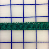 Non-Metallic Trim - 1/2-inch  French Gimp Hunter Green