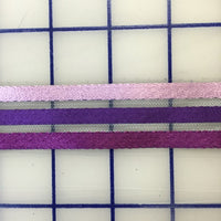Ribbon on Horsehair - 1-inch Ombre Purple