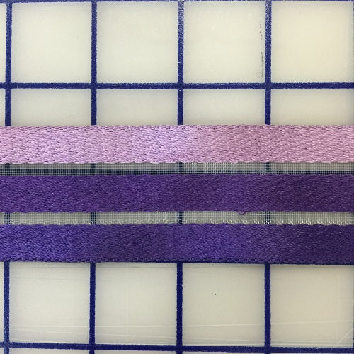 Ribbon on Horsehair - 1.5-inch Ombre Purple