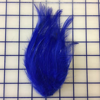 Feather Trim - Hackle Pads Royal Blue