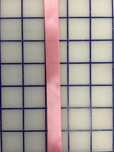 Single Face Satin Ribbon - 5/8-inch Dusty Rose