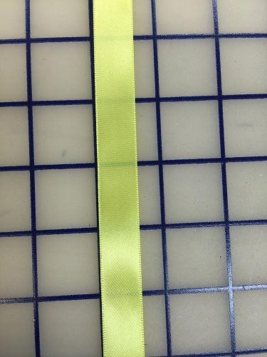 Single Face Satin Ribbon - 5/8-inch Maize