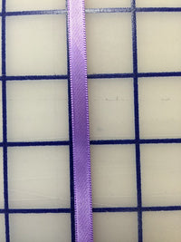 Single Face Satin Ribbon - 1/4-inch Grapewine