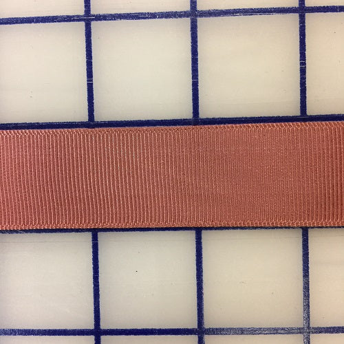 Grosgrain Ribbon - 7/8-inch Dusty Country Rose Close-Out