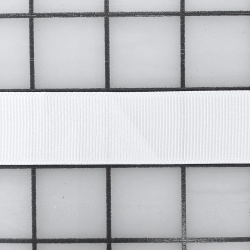 Grosgrain Ribbon - 7/8-inch White