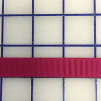 Grosgrain Ribbon - 5/8-inch Wine