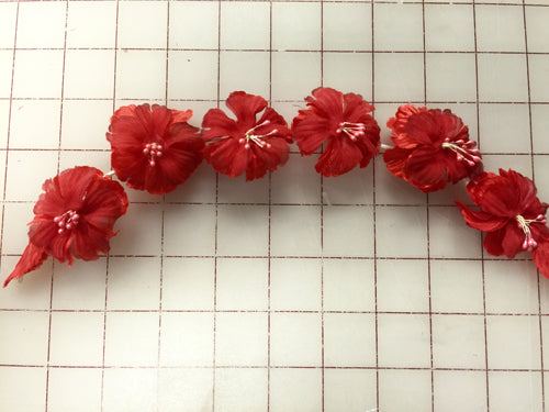 Flowers - Wreath  Red