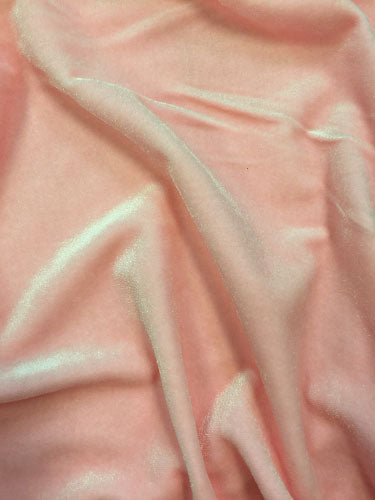 Stretch Velvet - 60-inches Wide Candy Pink
