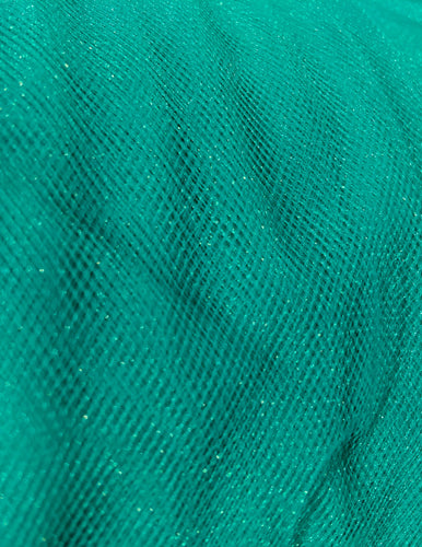 Tulle - 60-inches Wide Blue Jade