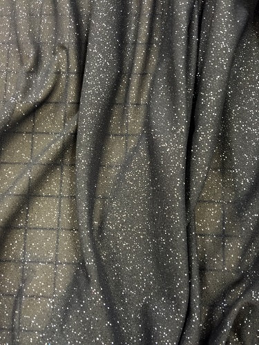 Stretch Crepe - 60-inches Wide Powerfoil Gunmetal