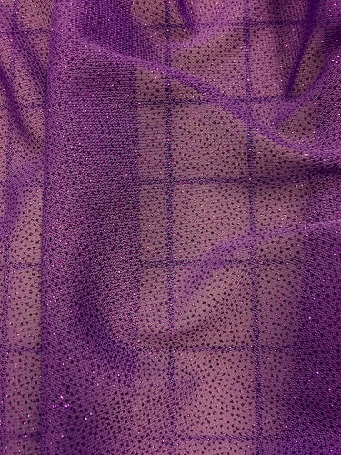 Stretch Crepe - 60-inches Wide Powerfoil Purple