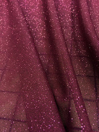 Stretch Crepe - 60-inches Wide Powerfoil Wine/Fuchsia