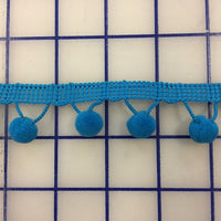 Non-Metallic Trim - 1/2-inch Ball Trim Turquoise