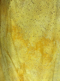 Sparkle Stretch - Golden Yellow 60-inches Wide