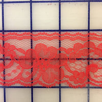 Lace Trim - 1.75-inch Red Lace