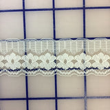 Lace Trim - 1.25-inch  Lace Cream