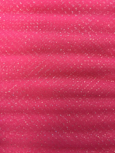 Regular Sparkle Tulle - 54-inches Wide American Beauty