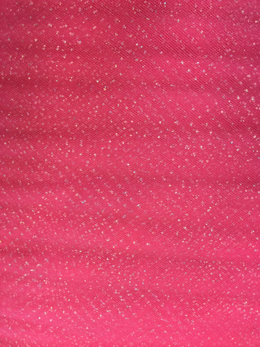 Regular Sparkle Tulle - 54-inches Wide Light Garnet