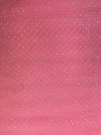 Regular Sparkle Tulle - 54-inches Wide Paris Pink