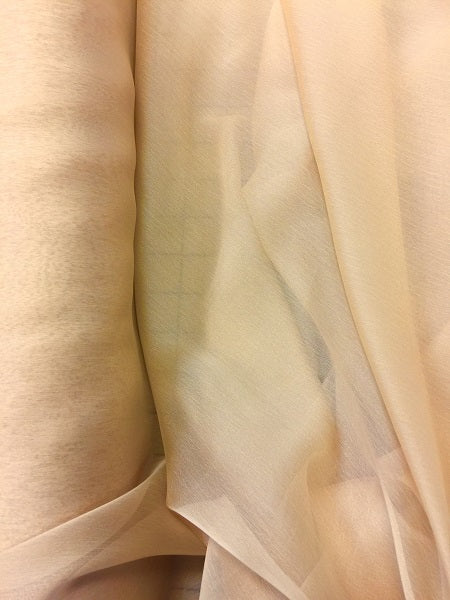 Poly Chiffon Two Tone - 59/60-inches Wide Cream