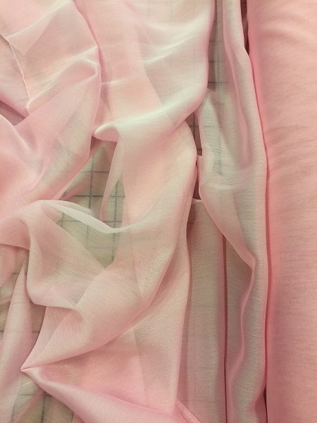 Poly Chiffon Two Tone - 59/60-inches Wide Pink