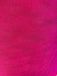 Tutu Net - 58-60-inches Wide Poly Stiff Net Fuchsia