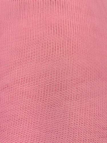 Tutu Net - 58-60-inches Wide Poly Stiff Net Pink