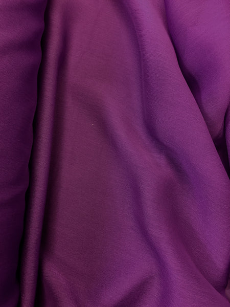 Poly Chiffon Two Tone - 59/60-inches Wide Jewel Purple