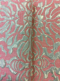 Brocade - 60-inches Wide Reversible Metallic Rose Pink