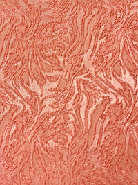 Stretch Brocade - 56-inches Wide Peach